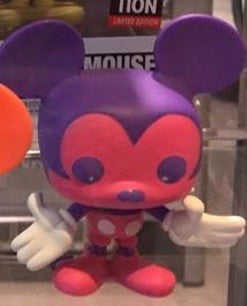 Purple Mickey Mouse - Mickey Exhibition Colorway - Funko Pop Vinyl Figure - JANUARY