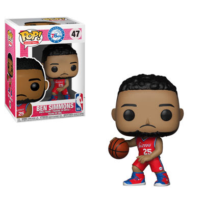 Ben Simmons - Philadelphia 76ers NBA - Funko Pop Vinyl Figure - DECEMBER
