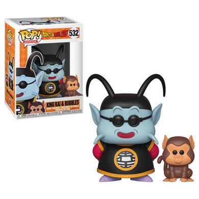 King Kai and Bubbles - Dragon Ball Z - Funko Pop! Vinyl Figure - JANUARY