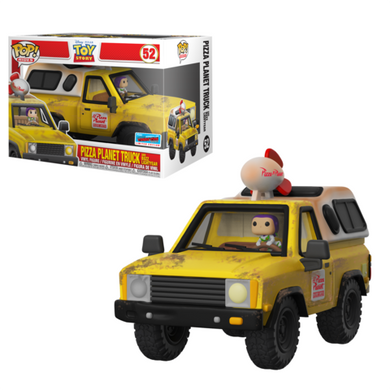 Pizza Planet Truck - Disney Toy Story - 2018 NYCC Exclusive Funko Pop Vinyl - OCTOBER