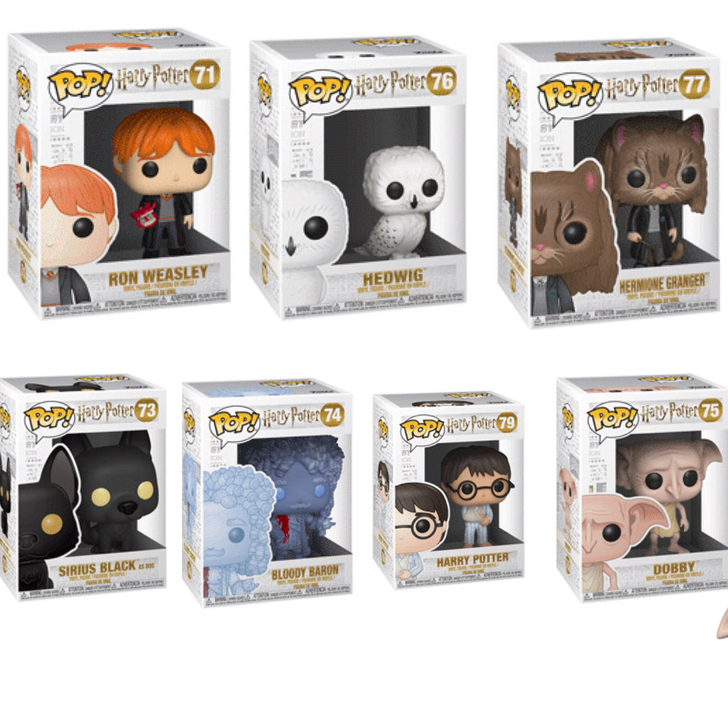 Bundle/Set of 7 - Harry Potter - Funko Pop! Vinyl Figure