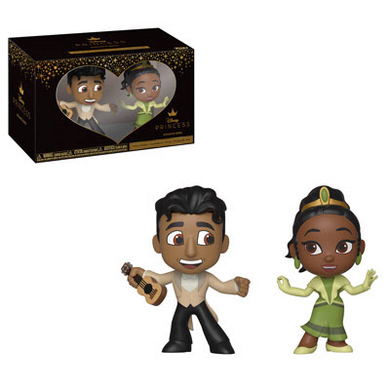 Tiana and Naveen - Disney The Princess and the Frog - Funko Mini Vinyl Figures - JANUARY