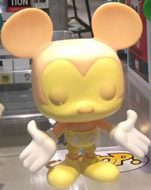 Yellow Mickey Mouse - Mickey Exhibition Colorway - Funko Pop Vinyl Figure - JANUARY