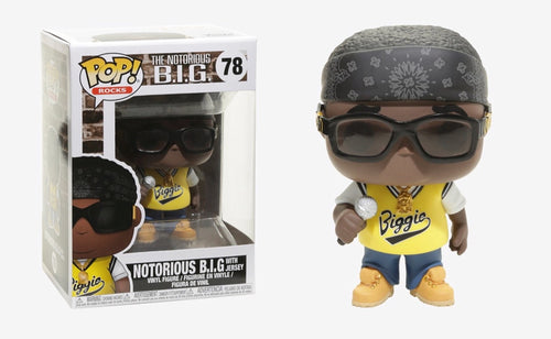 Notorious B.I.G. With Jersey - Funko Pop Vinyl