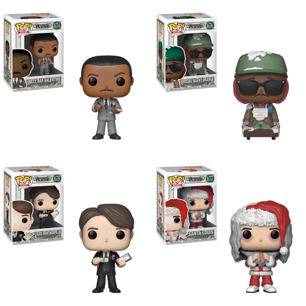 Bundle/Set of 4 - Trading Places - Funko Pop! Vinyl Figure - NOVEMBER