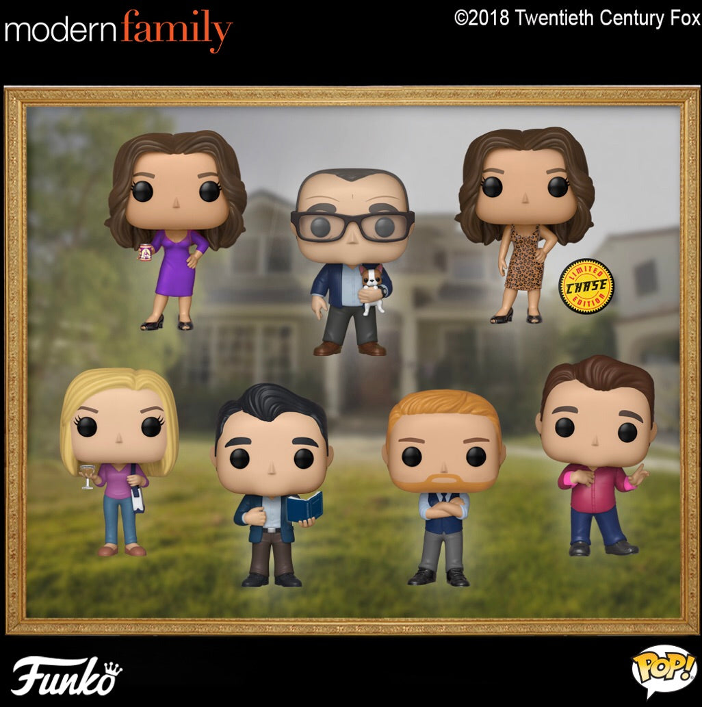 Set of 7 with Chase - Modern Family - Funko Pop! Vinyl Figure - JANUARY