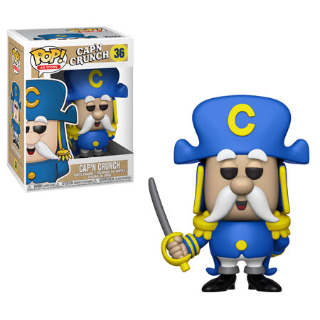 Cap'N Crunch with Sword - Ad Icons Funko Pop! Vinyl Figure - DECEMBER