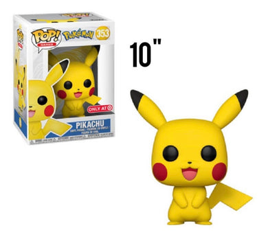 "10"" Pikachu (Target Exclusive) - Pokemon - Funko Pop Vinyl"