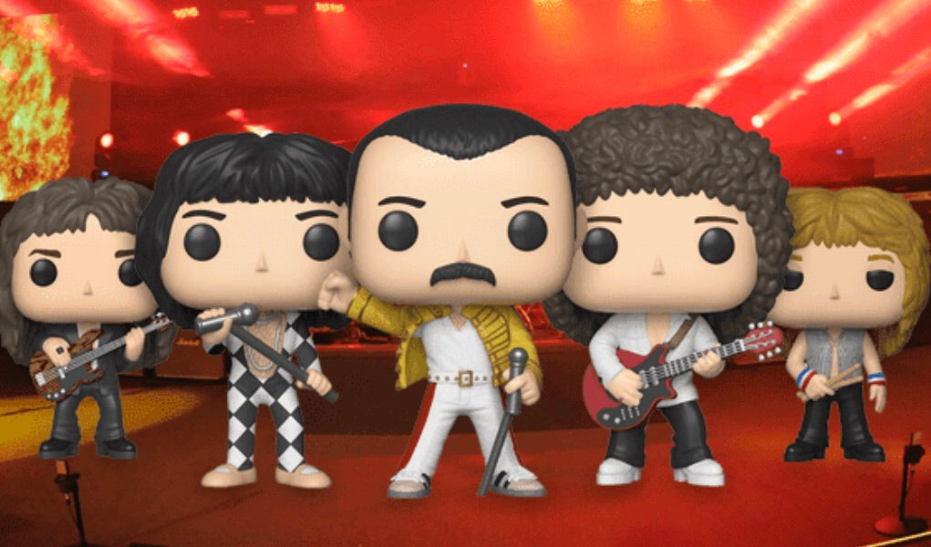 Complete Set of 5 - Queen - Funko Pop Vinyl Figure - JANUARY