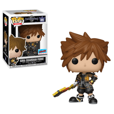 Sora as Guardian - Disney Kingdom Hearts - 2018 NYCC Exclusive Funko Pop Vinyl - OCTOBER