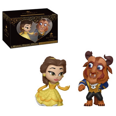 Belle and The Beast - Disney The Beauty and the Beast - Funko Mini Vinyl Figures - JANUARY