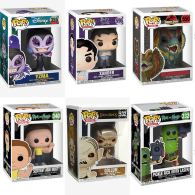 Funko Pop Starter Pack of 6