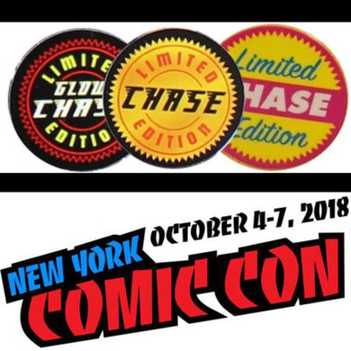 2018 CHASE/NYCC Super Mystery Box of 2 Random Funko Pop Vinyl Figures - Guaranteed 2018 NYCC or Chase Pop!