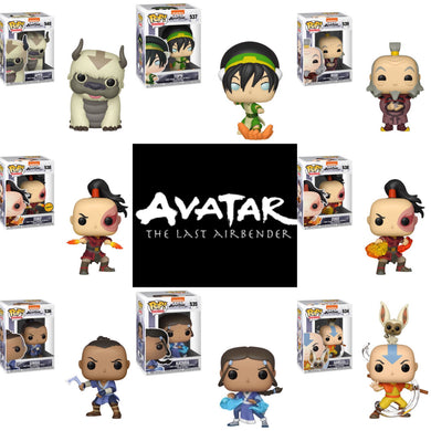Set of 8 with Chase - Avatar The Last Airbender - JANUARY