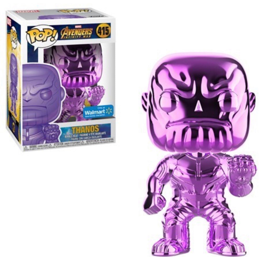 Chrome Thanos (Purple) - Wal-Mart Exclusive - Funko Pop! Vinyl Figure - NOVEMBER