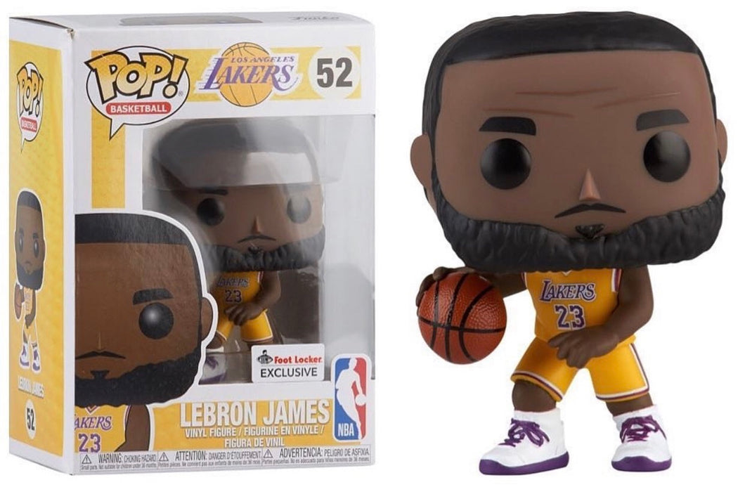 1292db78efc6 LeBron James - LA Lakers (Foot Locker Exclusive) NBA - Funko Pop Vinyl  Figure