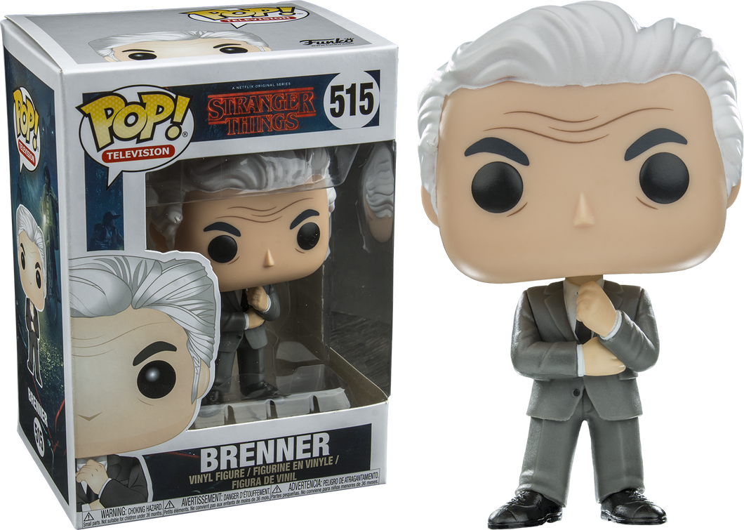 Brenner - Stranger Things - Funko Pop! Vinyl Figure