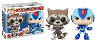 Rocket vs MegaMan X - Marvel vs Capcom - Funko Pop Vinyl Figures - NOVEMBER