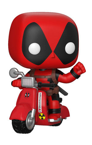 Deadpool on Scooter - Marvel Deadpool - Funko Pop Ride - MAY
