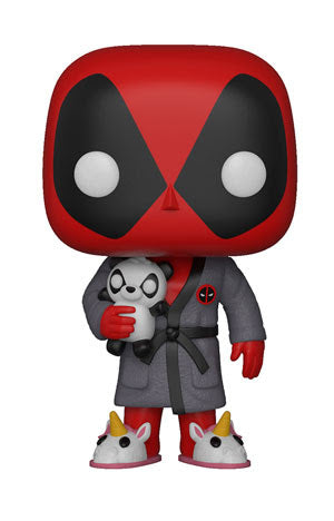 Deadpool in Robe - Marvel Deadpool Playime - Funko Pop Vinyl Figures - MAY