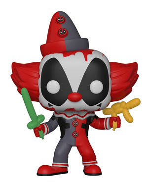 Deadpool Clown - Marvel Deadpool Playtime - Funko Pop Vinyl Figures - MAY