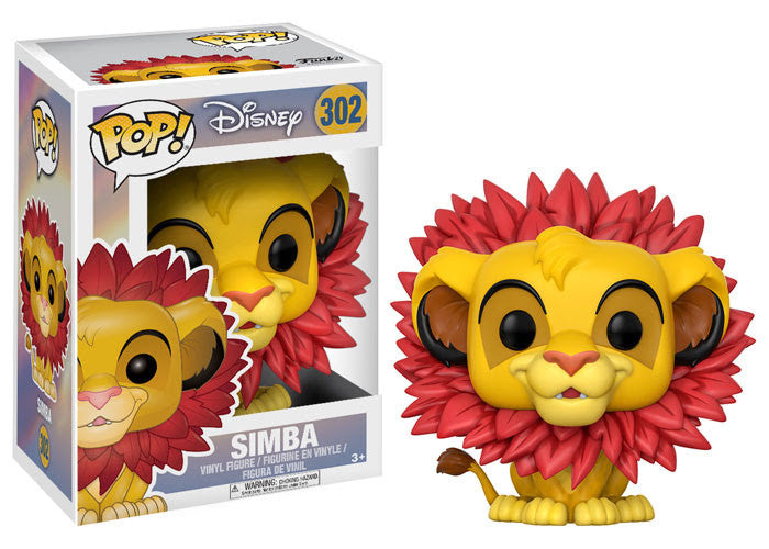 Simba (leaf mane) - Disney The Lion King - Funko Pop Vinyl