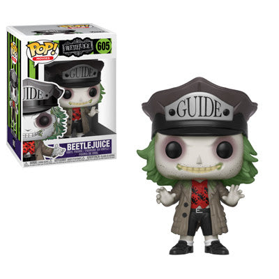 Beetlejuice with Hat - Funko Pop! Horror - JULY