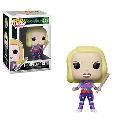 Froopyland Beth - Rick and Morty- Funko Pop Vinyl Figure - DECEMBER