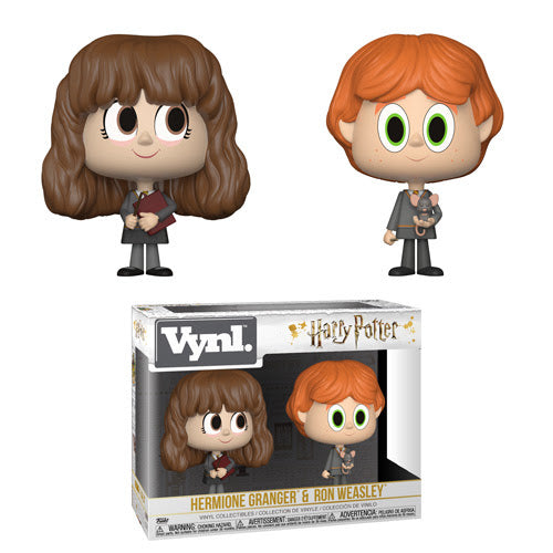 Hermione Granger & Ron Weasley - Harry Potter - Funko Vynl 2 Pack - JULY