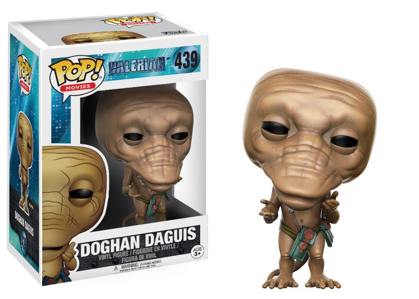 Doghan Daguis (Black Bag) - Valerian and the City of a Thousand Planets - Funko Pop Vinyl