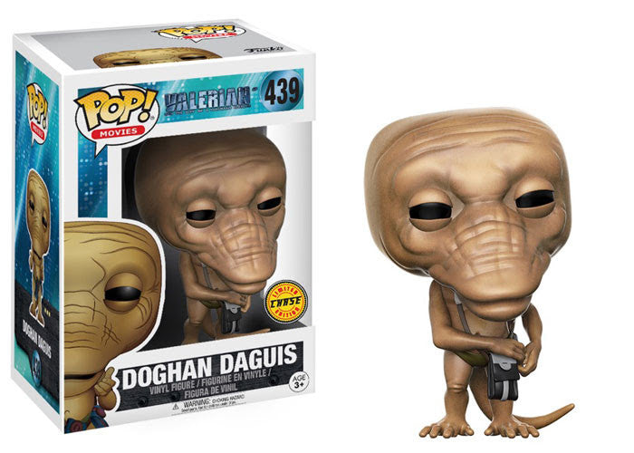 Doghan Daguis (Chase 2) - Valerian and the City of a Thousand Planets - Funko Pop Vinyl