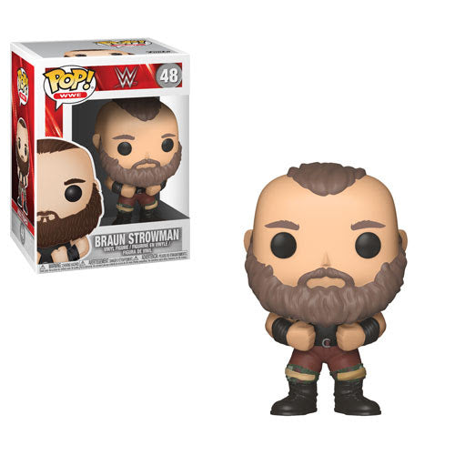 Braun Strowman - WWE Series 6 - Funko Pop Vinyl Figure - DECEMBER