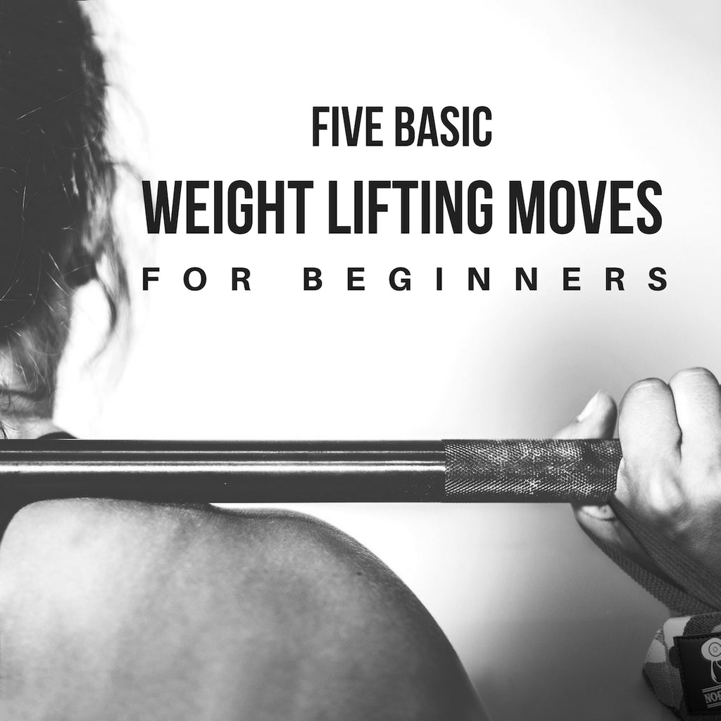 Five Basic Weight Lifting Moves for Beginners