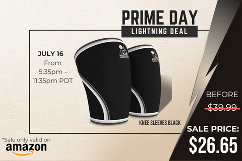 nordic lifting knee sleeves prime day