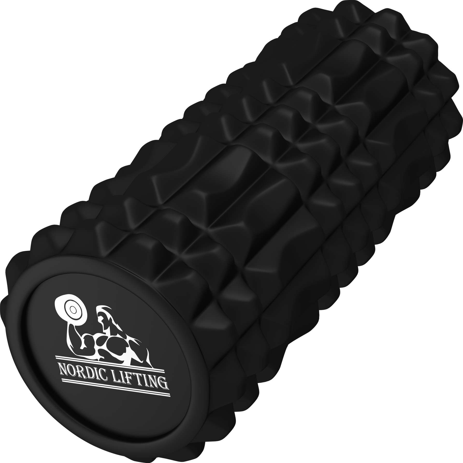 Black Foam Roller – Muscle Massage & Deep Tissue Trigger