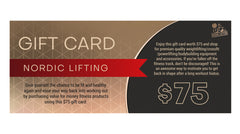 Nordic Lifting Gift Card