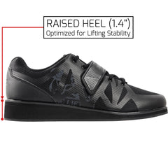 Black Powerlifting Shoes Megin