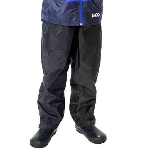 NEW - Tuffo (makers of Muddy Buddy rain suit) Adventure Rain Pants, BLACK, various sizes