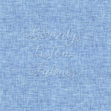 CL -Light blue faux linen | CL - Faux lin bleu clair