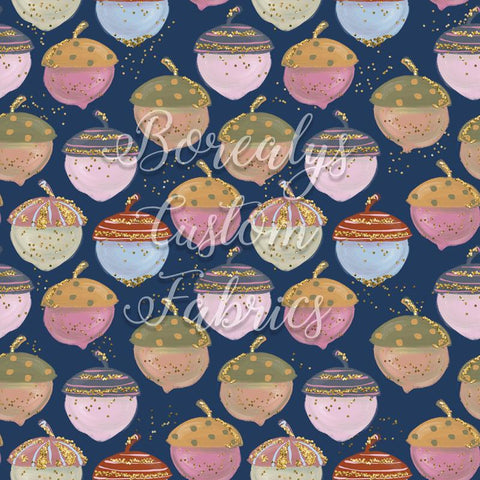 FT -Hazelnut on navy background | FT -Noisette sur fond marin