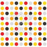 PUL- multicolored polka dots | PUL- Pois multicolor