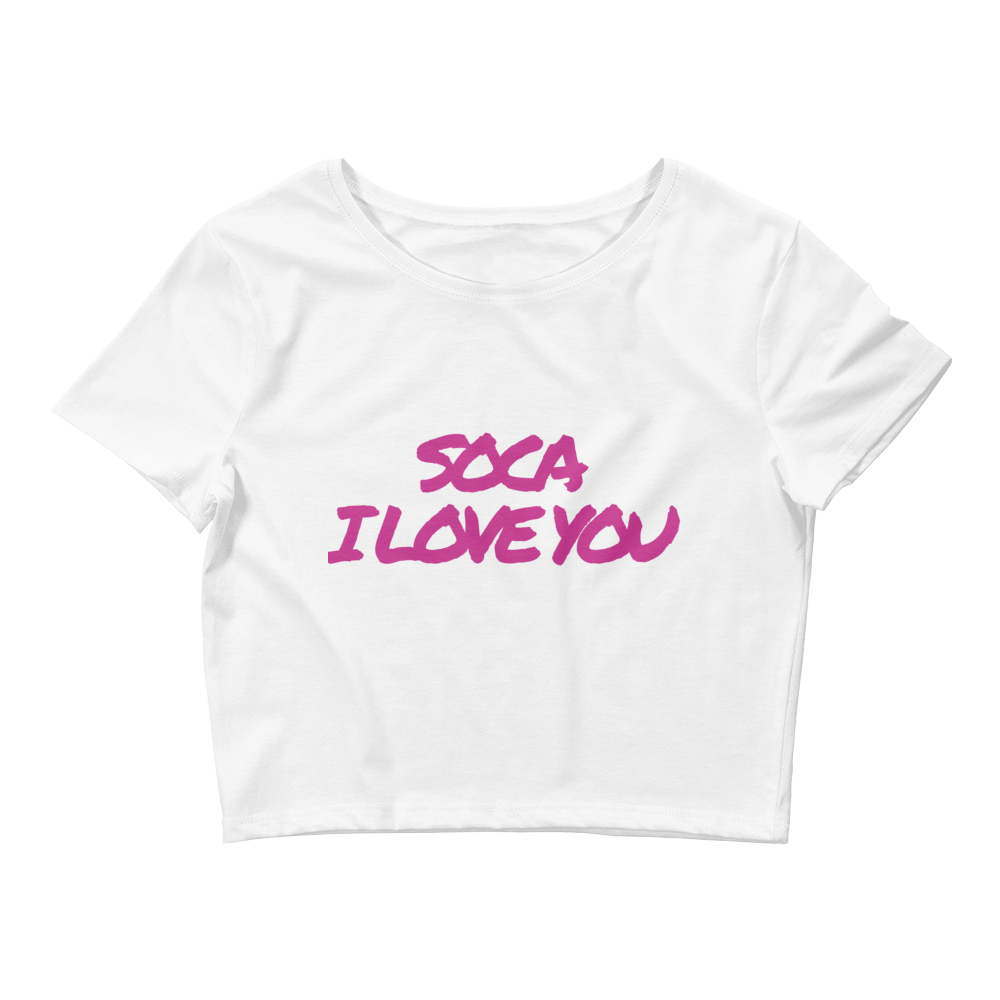 Soca Love Crop Tee