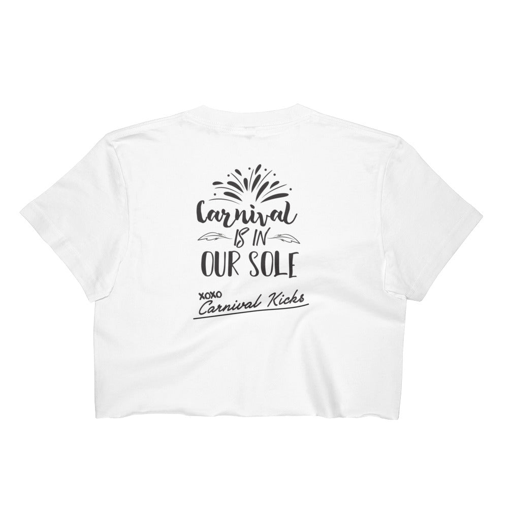 """Carnival is in our sole"" Crop Top"