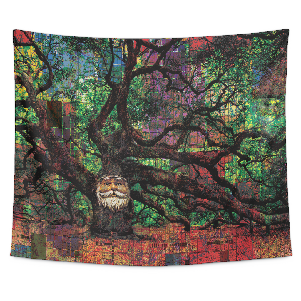 Mr. Tree Tapestry - Jud Hayden Art