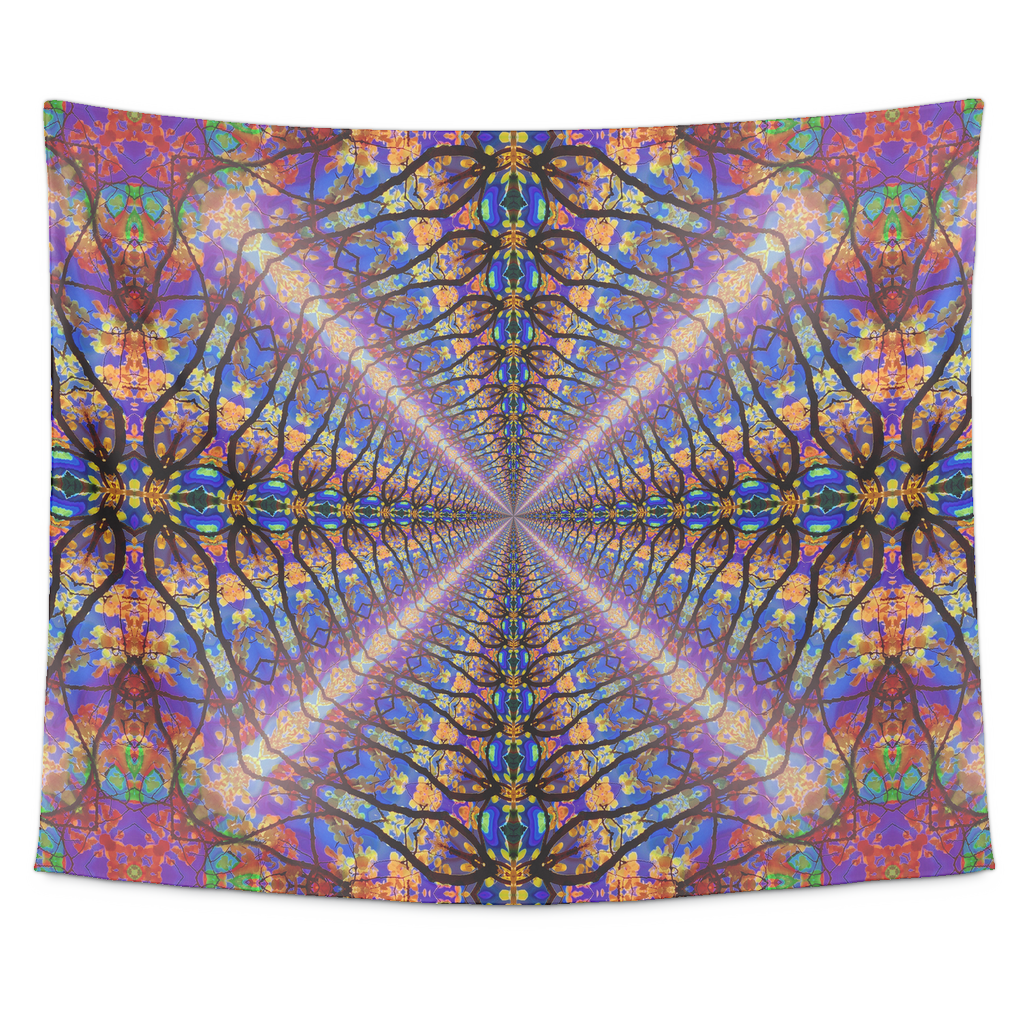Color Tunnel Tapestry - Jud Hayden Art