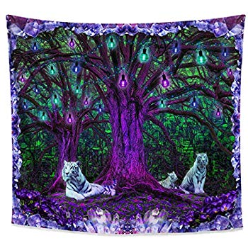 Tiger Tree Tapestry