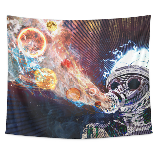 Astral Fumes Tapestry