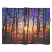 Sunrise Fleece Blanket - Jud Hayden Art