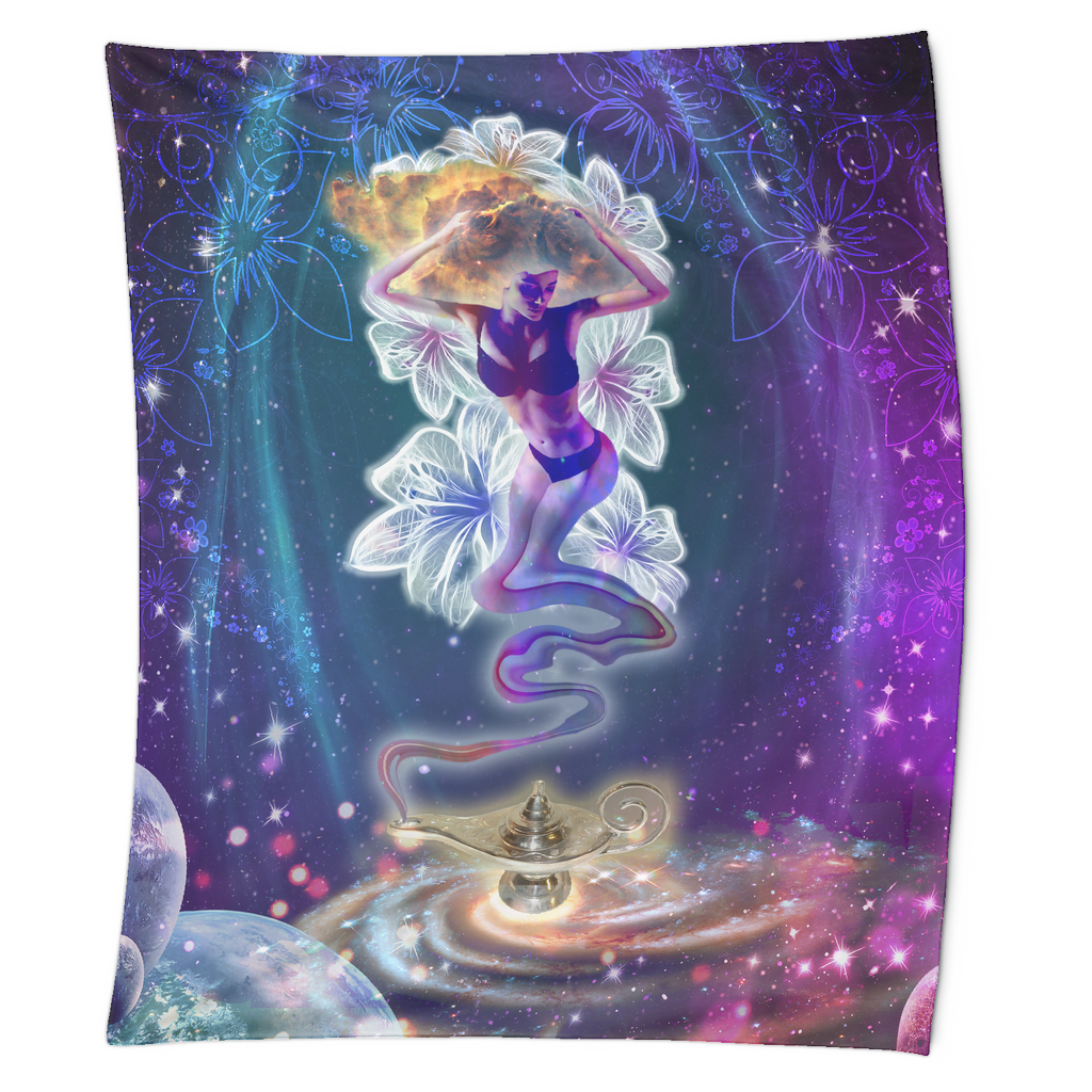 Celestial Wishes Tapestry - Jud Hayden Art