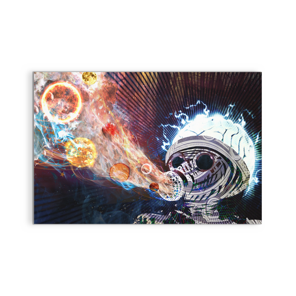 Astral Fumes Canvas - Jud Hayden Art